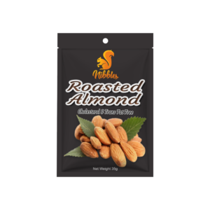 Nibbles Premium Roasted Almond Nuts 35g