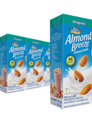 Blue Diamond Original Almond Milk 180ml x 3 Packs