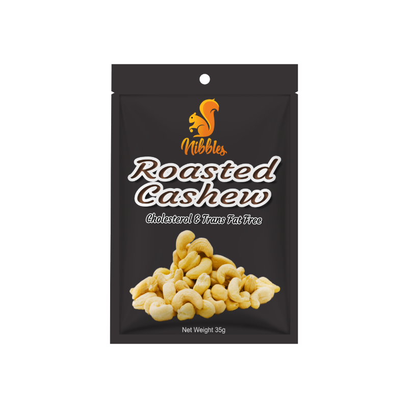 Nibbles Premium Roasted Cashew Nuts 35g