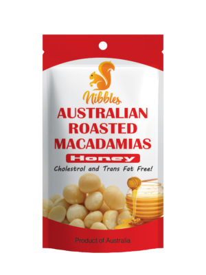 Nibbles Australian Honey Macadamia Nut 60g
