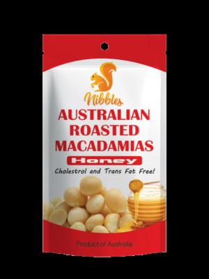 Nibbles Australian Honey Macadamia Nut 60g